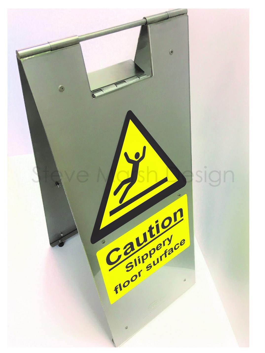 Elite wet floor stand – Caution Slippery floor surface